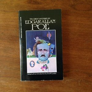 """Ten Great Mysteries By Edgar Allan Poe"""